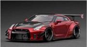 予約品 2022年2月頃 ミニカー ignition model(イグニッションモデル) 1/43 IG2552 日産 LB-WORKS Nissan GT-R R35 type 2 Red 生産数:100pcs 4573448895522