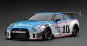 予約品 2022年5月頃 ミニカー ignition model(イグニッションモデル) 1/43 IG2555 日産 LB-WORKS Nissan GT-R R35 type 2 White/Blue  生産数100pcs 4573448895553