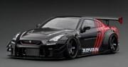 予約品 2022年5月頃 ミニカー ignition model(イグニッションモデル) 1/43 IG2556 日産 LB-WORKS Nissan GT-R R35 type 2 Black/Red  生産数100pcs 4573448895560