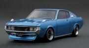 予約品 2022年6月頃 ミニカー ignition model(イグニッションモデル) 1/18 IG2602 トヨタセリカ Toyota Celica 1600GT LB (TA27) Blue Metallic  生産数120pcs 4573448896024
