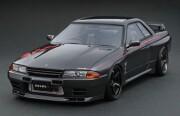 予約品 2022年4月頃 ミニカー ignition model(イグニッションモデル) 1/64 IG2686 日産スカイライン Nissan Skyline GT-R Nismo (R32) Gun Metallic 4573448896864