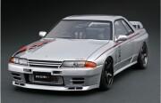 予約品 2022年4月頃 ミニカー ignition model(イグニッションモデル) 1/64 IG2687 日産スカイライン Nissan Skyline GT-R Nismo (R32) Silver 4573448896871