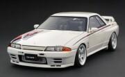 予約品 2022年4月頃 ミニカー ignition model(イグニッションモデル) 1/64 IG2688 日産スカイライン Nissan Skyline GT-R Nismo (R32) White 4573448896888