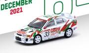 予約品 2022年3月頃 ミニカー TARMAC WORKS(ターマックワークス) 1/64 T64-012-98ST33 三菱ランサー Mitsubishi Lancer Evolution V Super N1 Endurance Series 1998 9580015719254