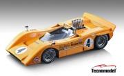 予約品 2022年2月以降順次 ミニカー Tecnomodel(テクノモデル) 1/18 TM18-252A マクラーレン M8A カンナム リバーサイド 1968 優勝車 #4 B.McLaren