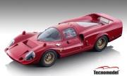 予約品 2022年2月以降順次 ミニカー Tecnomodel(テクノモデル) 1/18 TM18-255A フェラーリ 365 P2/3 ドローゴ プレス 1967 ロッソコルサ