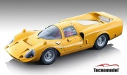 予約品 2022年2月以降順次 ミニカー Tecnomodel(テクノモデル) 1/18 TM18-255D フェラーリ 365 P2/3 ドローゴ プレス 1967 ジャッロモデナ