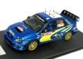 お取り寄せ品 順次 ミニカー プロドライブ 1/43 05JAPAN43 スバル インプレッサ WRC 2005年 #5 ペーター・ソルベルグ 4907981601638