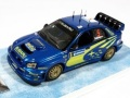 お取り寄せ品 順次 ミニカー プロドライブ 1/43 05SWEDEN43 スバル インプレッサ  WRC 2004年 WRCスエディッシュラリー 優勝#5 4907981601669