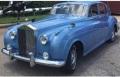 お取り寄せ予約品 11月以降順次 ミニカー MINICHAMPS(ミニチャンプス)  ダイキャストモデル 1/18 100134904 ロールス ロイス シルバー CLOUD II 1960 ブルー