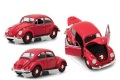 お取り寄せ予約品 8月発売予定 ミニカー GreenLight(グリーンライト)  1/18 13511 1967 Volkswagen Beetle Right-Hand Drive - Candy Apple Red 819725020060