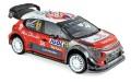 予約品 2019年6月頃 ミニカー  NOREV(ノレブ) 1/18 181639 シトロエン C3 WRC 2018年ツール・ド・コルス #11 S.Loeb / D.Elena  非開閉 3551091816393