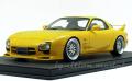 予約品 20202年8月頃 ミニカー ignition model(イグニッションモデル) 1/18 IG1833 マツダ RX-7 (FD3S) Mazda Speed Aspec イエロー 120台限定 4573448888333