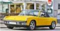予約品 2022年3月頃 ミニカー NOREV(ノレブ) (開閉機構あり) 1/18 187689 VW ポルシェ 914-6 1973 イエロー 3551091876892