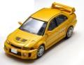 予約品 8月末 ミニカー トミーテック 1/64 301332 LV-N187a ランサーGSRエボリューションV(黄) 4543736301332