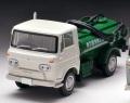 予約品 6月末 ミニカー トミーテック 1/64 302001 LV-180a いすゞエルフ バキュームカー 68年式(白/ 緑) 4543736302001