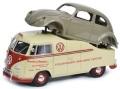 予約品 8月頃 ミニカー Schuco(シュコー) ProR18 レジンモデル(開閉機構なし) 1/18 450016300 VW T1a Midlands Centre (イギリスのVWディーラー) 限定500台 4007864020089