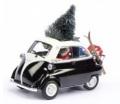 お取り寄せ予約品 〜2016年 ミニカー Schuco シュコー 1/43 450210900 BMW イセッタ エクスポート クリスマス 2015 荷台&スキー付 4007864021093