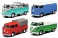 お取り寄せ予約品 8月頃 ミニカー Schuco(シュコー) Edition43 1/43 450368900 VW T1 4台 セット 限定750 4007864013074