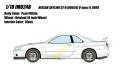 予約品 9月頃 ミニカー IDEA (イデア) レジンモデル 1/18 IM024B Nissan Skyline GT-R (BNR34) V-spec II 2000 パールホワイト 4573433686890