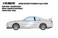 予約品 9月頃 ミニカー IDEA (イデア) レジンモデル 1/18 IM024C Nissan Skyline GT-R (BNR34) V-spec II 2000 スパークリングシルバー 4573433686906