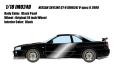 予約品 9月頃 ミニカー IDEA (イデア) レジンモデル 1/18 IM024D Nissan Skyline GT-R (BNR34) V-spec II 2000 ブラックパール 4573433686913