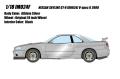 予約品 9月頃 ミニカー IDEA (イデア) レジンモデル 1/18 IM024F Nissan Skyline GT-R (BNR34) V-spec II 2000 アスリートシルバー 4573433686937