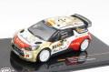 ミニカー イクソモデル ixo1/43  RAM538 シトロエン DS3 WRC 2013年 ラリー・ドイチュラント 優勝 #3 D. Sordo/C.Del Barrio (2013WRC優勝車)