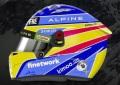 予約品 10月頃 ミニカー SPARK(スパーク) 1/5 5HF061 Fernando Alonso - Alpine アルピーヌ - 2021 F1Helmet 9580006190611