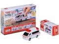 ミニカー タカラトミー 1/64 616863 トミカ4D 06 トヨタ ハイメディック救急車 4904810616863