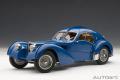 予約品 2020年1月頃 ミニカー AUTOArt(オートアート・シグネチャーシリーズ)ダイキャストモデル 1/18 70943 ブガッティ タイプ57SC アトランティック 1938 (ブルー/ワイヤースポークホイール)
