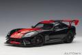 予約品 6月以降順次 ミニカー AUTOart(オートアート・コンポジットダイキャストモデル) 1/18 71732 ダッジ バイパー 1:28 エディション ACR (ブラック/レッド・ストライプ)
