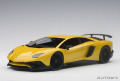 お取り寄せ予約品 9月以降 ミニカー AUTOart(オートアート・コンポジットダイキャストモデル) 1/18 74558 ランボルギーニ アヴェンタドール LP750-4 SV (メタリック・イエロー)