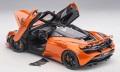 お取り寄せ予約品 2021年1月以降 ミニカー AUTOart(オートアート・コンポジットダイキャストモデル) 開閉機構有り 1/18 76074 マクラーレン 720S (メタリック・オレンジ)
