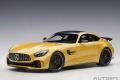 予約品 6月以降順次 ミニカー AUTOart (オートアート)コンポジットダイキャストモデル 1/18 76332 メルセデス AMG GT R (メタリックイエロー)
