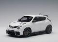 予約品 2018年1月以降順次 ミニカー AUTOart (オートアート・コンポジットダイキャストモデル) 1/18 77456 日産 ジュークR 2.0 (ホワイト)