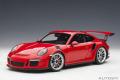 お取り寄せ品 ミニカー AUTOart (オートアート・コンポジットダイキャストモデル) 1/18 78165 ポルシェ 911 (991) GT3 RS (レッド)