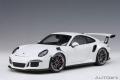 お取り寄せ品 ミニカー AUTOart (オートアート・コンポジットダイキャストモデル) 1/18 78166 ポルシェ 911 (991) GT3 RS (ホワイト)