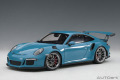 お取り寄せ品 ミニカー AUTOart (オートアート・コンポジットダイキャストモデル) 1/18 78167 ポルシェ 911 (991) GT3 RS (スカイブルー)