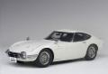 お取り寄せ品 ミニカー AUTOart (オートアート・コンポジットダイキャストモデル) 1/18 78754 トヨタ 2000GT ワイヤースポークホイール バージョン (ホワイト)
