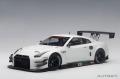 お取り寄せ品 ミニカー AUTOart(オートアート・コンポジットダイキャストモデル) 1/18 81576 日産 GT-R NISMO GT3 (ホワイト)