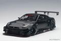お取り寄せ品 ミニカー AUTOart(オートアート・コンポジットダイキャストモデル) 1/18 81580 日産 GT-R NISMO GT3 (マット・ブラック)