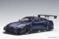 お取り寄せ品 ミニカー AUTOart(オートアート・コンポジットダイキャストモデル) 1/18 81584 日産 GT-R NISMO GT3 (オーロラ フレア ブルー・パール)