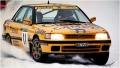 ミニカー HPI 1/43 8273 スバルレガシー RS (#11) 1992 Swedish MIRAGE(ダイキャストモデル)