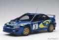 お取り寄せ品 ミニカー AUTOart (オートアート)ダイキャスト 1/18 89792 スバル インプレッサ WRC 1997 #3 (コリン・マクレー/ニッキー・グリスト) サファリラリー優勝