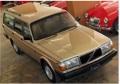 お取り寄せ予約品 11月以降順次 ミニカー MAXICHAMPS(マキシチャンプス) 1/43 940171414 ボルボ 240 GL ブレーク 1986 ゴールド