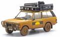 予約品 8月頃 ミニカー ALMOST REAL ダイキャスト 1/43 AL410111 レンジローバー キャメルトロフィー スマトラ 1981 ダーティバージョン(イエロー)