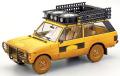 予約品 5月頃 ミニカー ALMOST REAL (開閉機構あり) ダイキャストモデル 1/18 AL810111 レンジローバー キャメルトロフィー スマトラ 1981 ダーティバージョン(ウェザリング塗装ver.) (イエロー)
