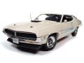 お取り寄せ予約品 ~2021年6月頃 ミニカー アメリカンマッスル American Muscle ダイキャスト (開閉機構付) 1/18 AMM1256 1971 フォード トリノ (Class of 1971) ウィンブルドンホワイト 4548565402038