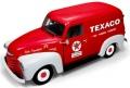 お取り寄せ予約品 12月頃 ミニカー アメリカンマッスル American Muscle ダイキャスト(開閉機構付) 1/18 AW248  1948 Chevy Panel Delivery Texaco(レッド/ホワイト) 4548565356256